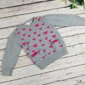 H & M Heart Sweater